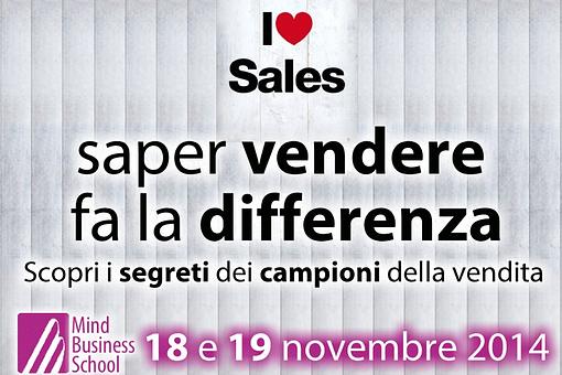 MBS 18 e 19 novembre 2014 - Sales - Saper vendere fa la differenza